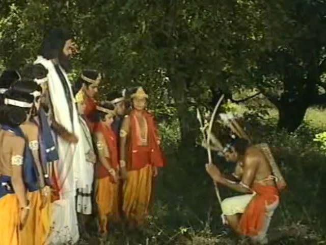 Махабхарата (1988). 23 серия.