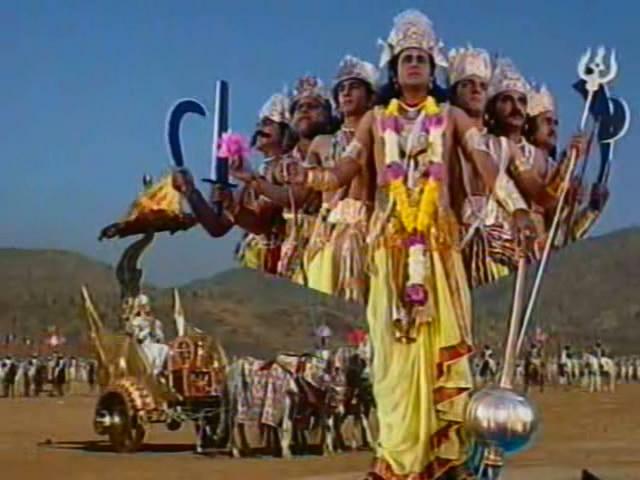 Махабхарата (1988). 74 серия.