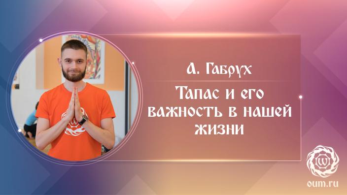 Тапас и его важность в нашей жизни. Александр Габрух