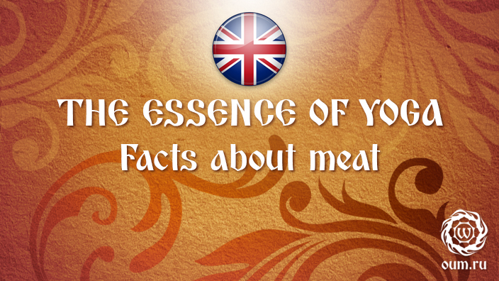 The Essence of Yoga. Facts about meat