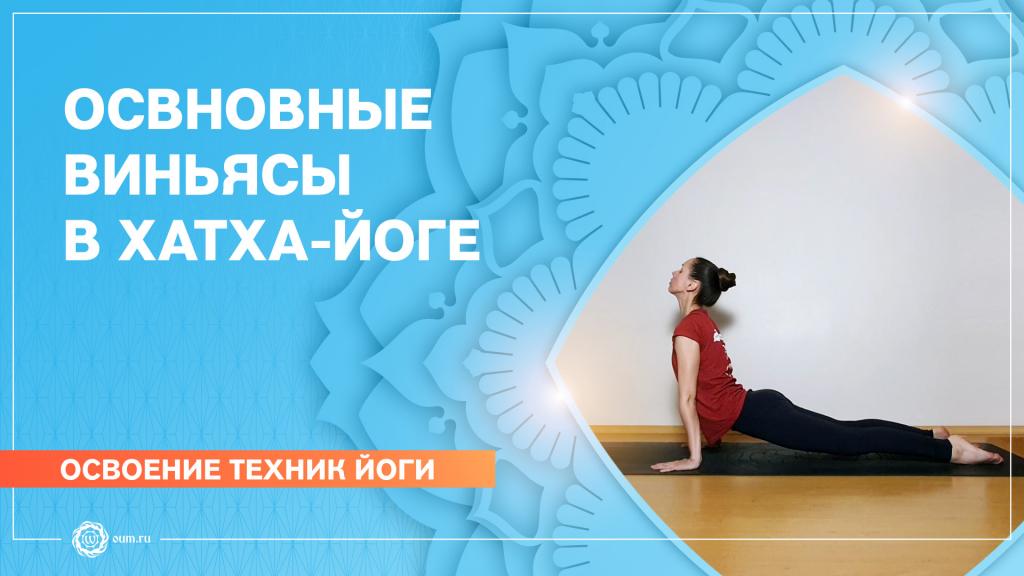 Основные виньясы в хатха-йоге. Екатерина Андросова