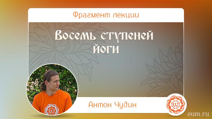Восемь ступеней йоги. Антон Чудин