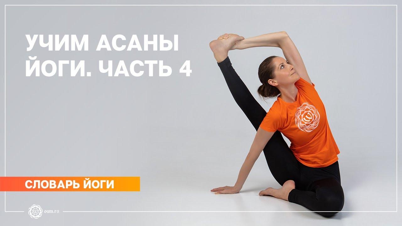 Учим асаны йоги. Часть 4