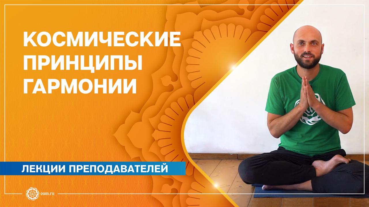 Космические принципы гармонии. Яма и Нияма. Юрий Фёдоров