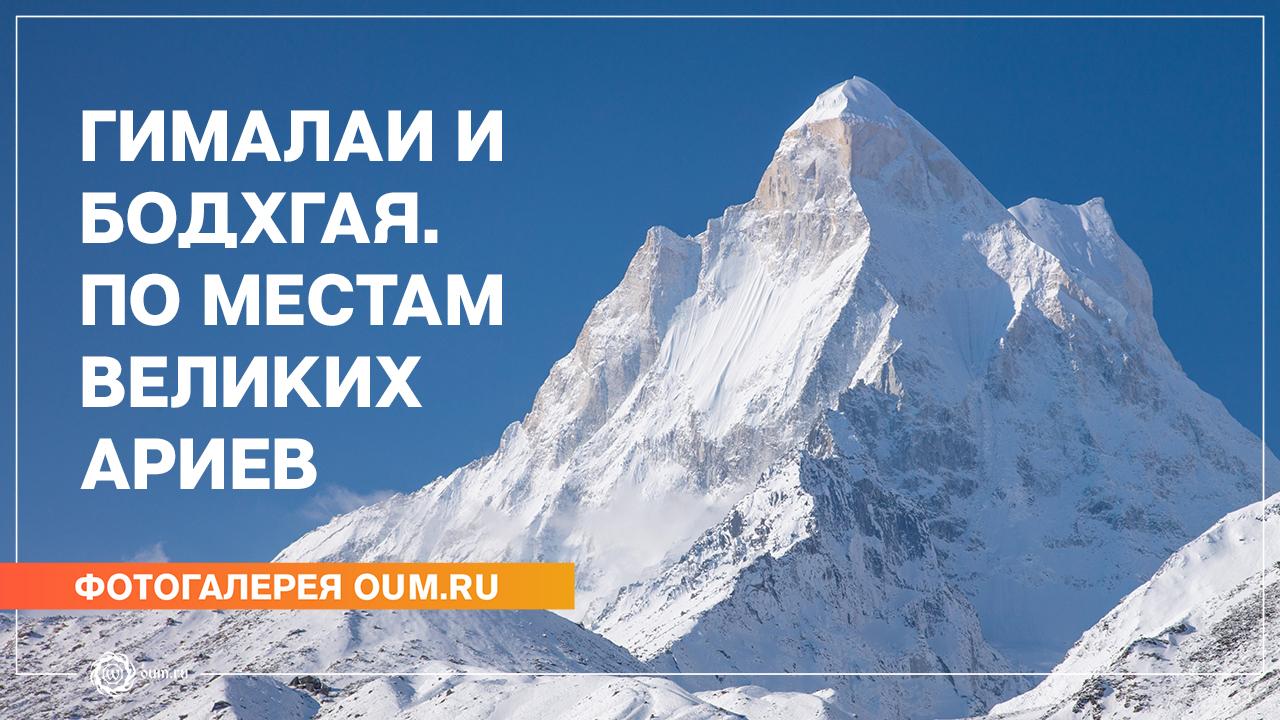 Гималаи и Бодхгая. По местам Великих Ариев - Фотогалерея oum.ru